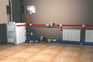 Водяное отопление - открытая система