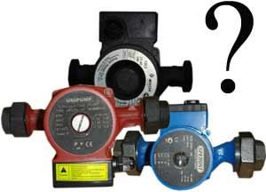 Как осуществить подбор циркуляционного насоса для системы отопления дома