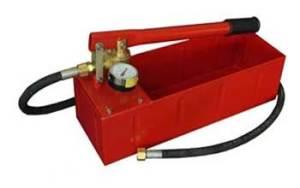 Ручной насос для гидравлических испытаний системы отопления