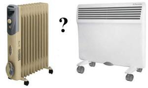 Масляный радиатор или конвектор — что лучше выбрать?