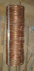 Медная трубка конденсатора