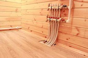 Водяные теплые полы своими руками по деревянному полу