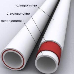 РР-труба армированная стекловолокном