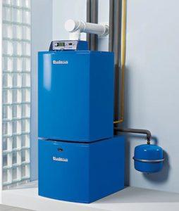Двухконтурный напольный газовый котел для отопления
