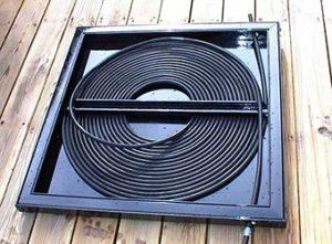 Радиатор солнечного коллектора из металлопластиковых труб