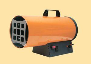 Тепловая пушка для дачи